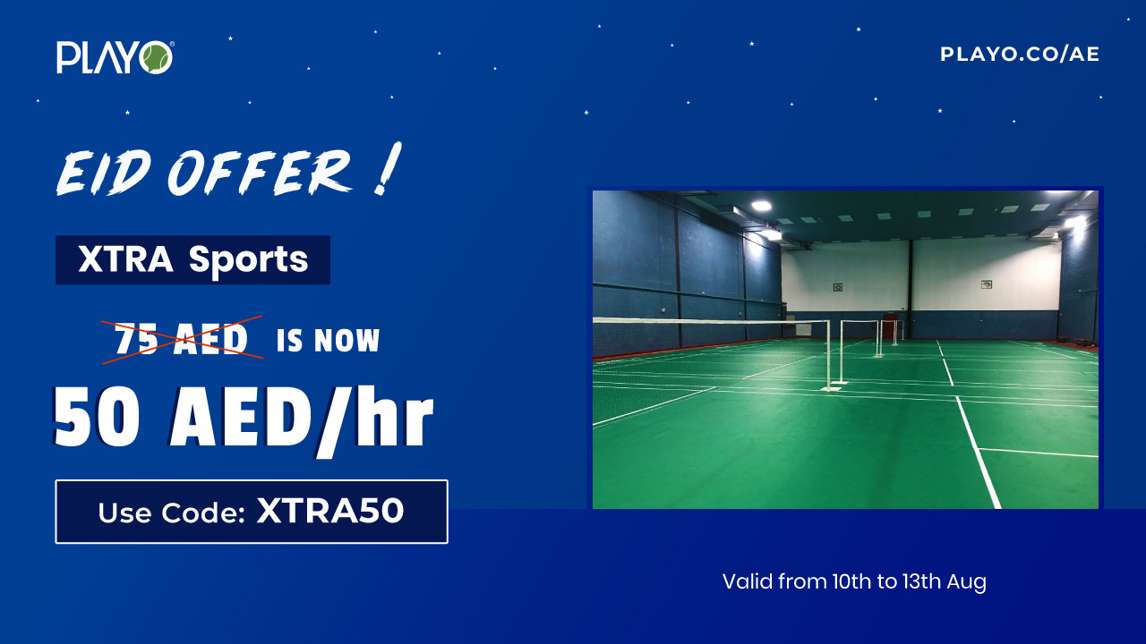 Eid Offer @ Xtra Sports, Al Quoz : Use code XTRA50 to avail discounts