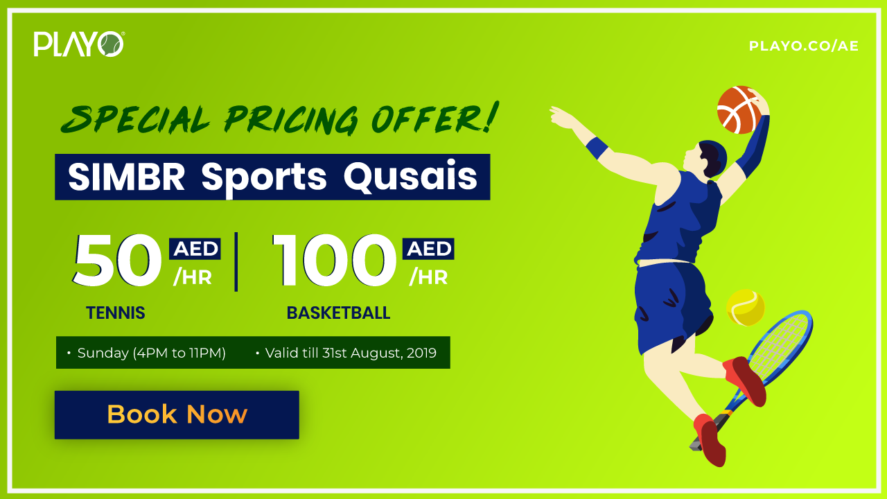 SIMBR SUNDAY SPECIAL PRICING OFFER (Tennis & Basketball)