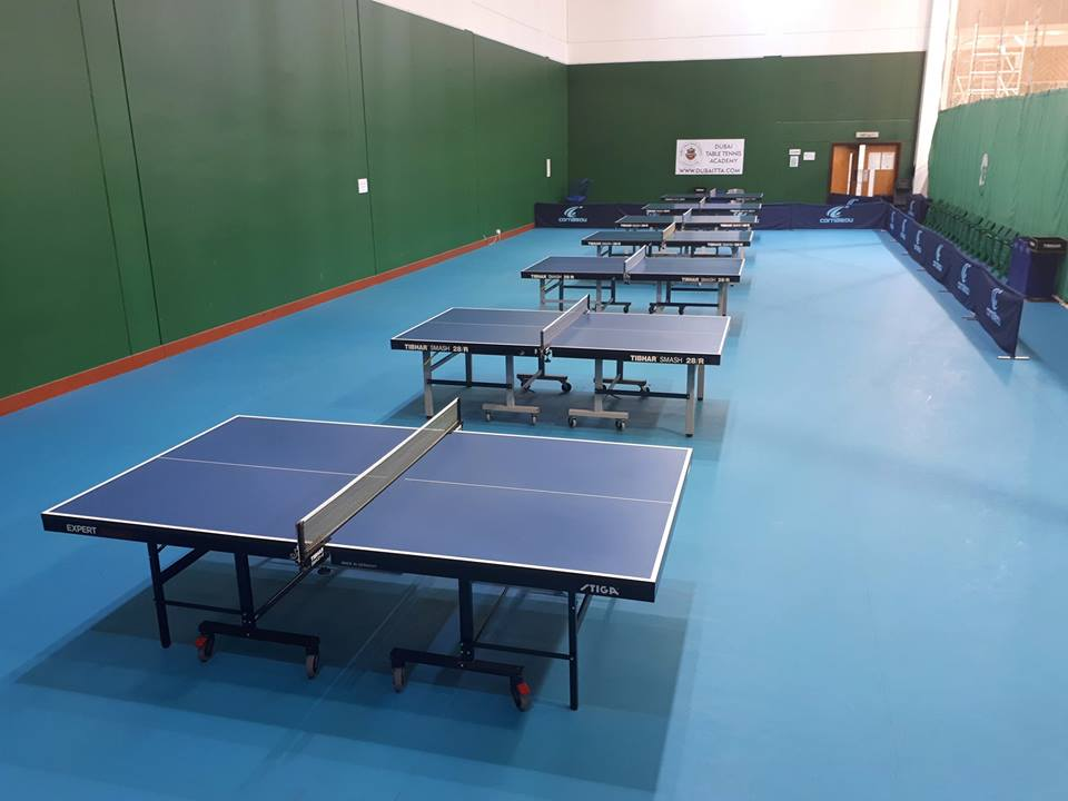 Winter offer @ Dubai Table Tennis Academy: Use code: WINPLAYO15 and avail 15% off on your next booking till Jan 15th
